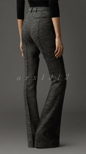 Womens Casual Thicken Woolen Radish Pants Feet Pants Ladies Winer Trousers Ths01