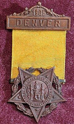 GAR Civil War Medal Pin Ladies of The Grand Army Of The Republic / (Ladies Of The Grand Army Of The Republic)