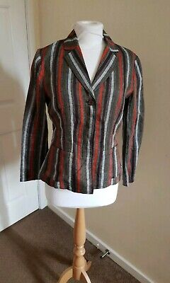 Gorgeous Womens Linen Blazer Jacket From IBlues. Size UK 10/M. Great Condition.