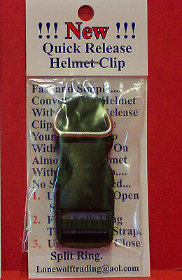 """New"" Motorcycle  Quick Release Helmet Buckles Fits Up To 3/4"" Strap-2 Styles"