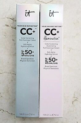 It Cosmetics Your Skin But Better Cc Cream Foundation Bnib Free Ship   You Pick