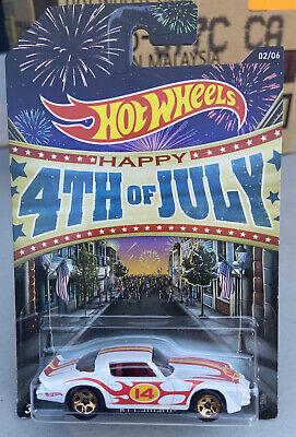 2013 Hot Wheels 4th of July '81 Camaro