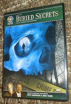 Buried Secrets  Cold Cases Uncovered  Dvd  2006   New   Sealed  Nbc News