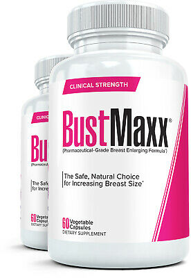 2X BUSTMAXX The #1 Natural Breast Augmentation Supplement /Best Bust (Best Natural Breast Enlargement)