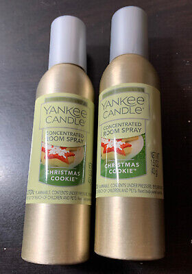 yankee candle concentrated room spray 2 Pack Of Christmas Cookie