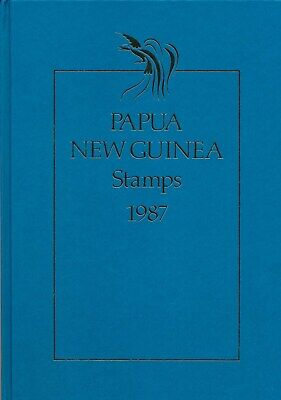 Papua New Guinea: 1987 Post Office Year Collection Stamp Album MUH Cat value $75
