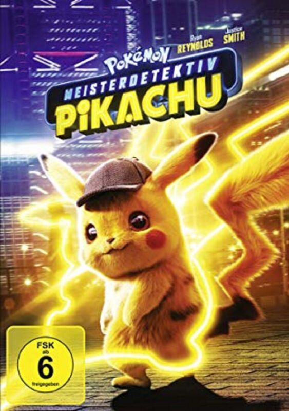 Pokémon Meisterdetektiv Pikachu DVD NEU OVP Pokemon Der Kinofilm Vorbestellung