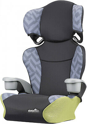 Booster Car Seat Goody Two Tones High Back With 2 Cup Holder