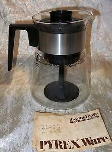 Vintage 6 Cup Glass Pyrex USA Stove Top Coffee Percolator South Windsor Hawkesbury Area Preview