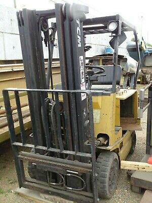 Tcm 2000 Lb. Electric Fork Lift Truck 48v Fcb20h2