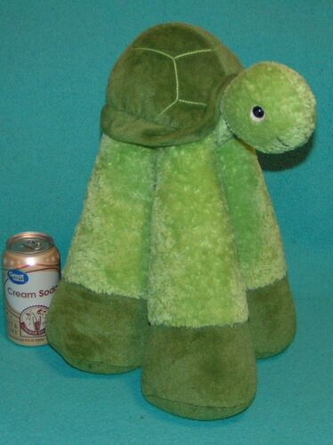 "BESTEVER Funny Feet TURTLE Big! 15"" PLUSH Tall LONG LEGS Standing Stuffed Animal"