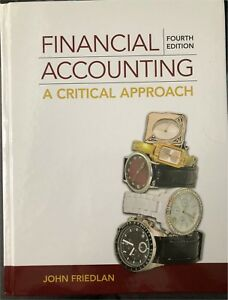 Financial Accounting - A Critical Approach
