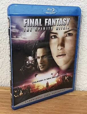 FINAL FANTASY: THE SPIRITS WITHIN (Blu-Ray, 2007) REGION FREE ~ DISC IS FLAWLESS
