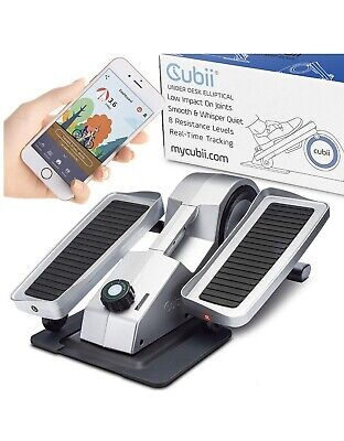 Cubii Pro Under Desk Elliptical, Bluetooth Enabled, Sync w/FitBit and HealthKit,
