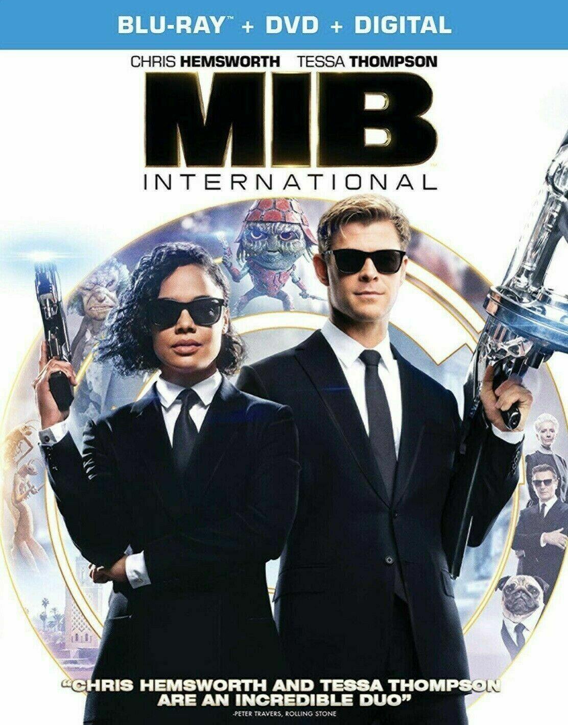 MIB Men In Black International Blu-ray/artwork/slipcover Fre
