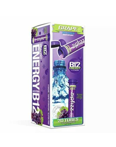 ZipFizz Grape 20 Tubes (no box only the product)
