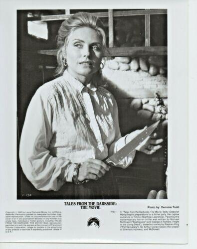 """DEBORAH HARRY TALES FROM THE DARK SIDE 8"""" X 10"""" B&W PRESS PHOTO 1990 BLONDIE"""