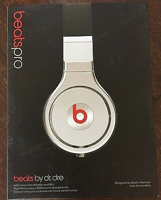 Beats by Dre Beats Pro Black/ Silver Over-ear Headphones - New & Sealed