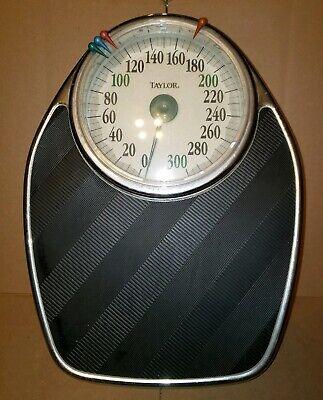 Taylor Professional Bathroom Scale 300 Pound Capacity Model 1350J