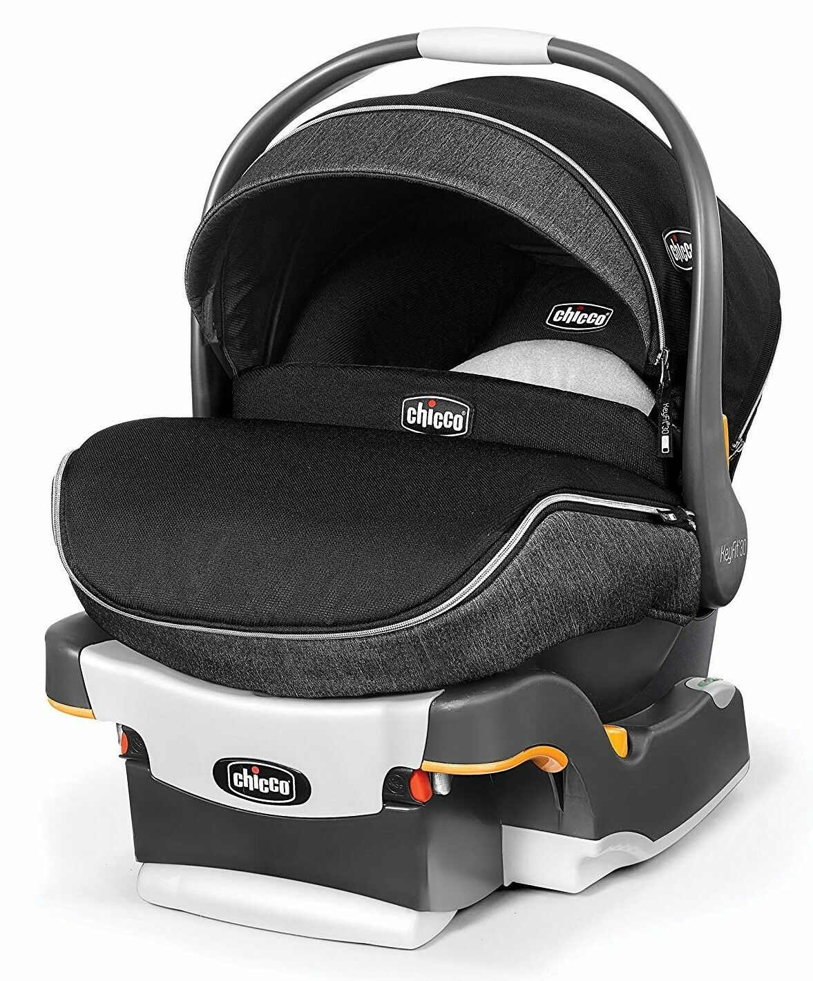 Chicco KeyFit 30 Zip Infant Car Seat, Minerale