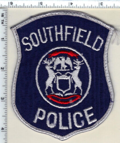 Southfield Police (Michigan) Uniform Take-Off Shoulder Patch from 1992