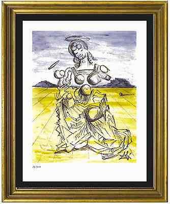 """Salvador Dali Signed/Hand-Numbrd Ltd Ed """"Mother & Child """" Litho Print (unframed)"""