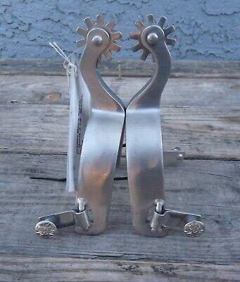 Coronet NEW Stainless Steel Slip On SpursWomen/'s 3//4 Stainless Steel