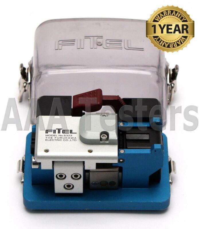 FiTeL S323 High Precision Fiber Optic Cleaver S-323