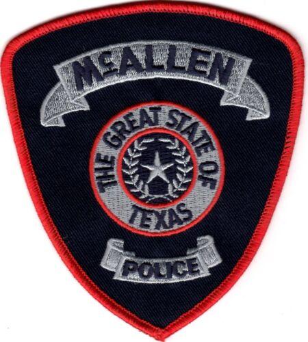 McAllen Police Patch Texas TX