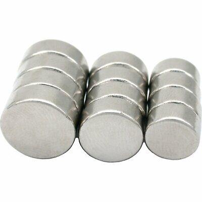 12 Rare Earth Ndfeb Neodymium Round Magnets 38 916 Hobby Craft Parts