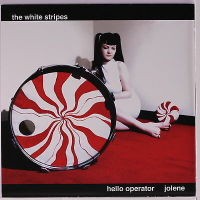 "The White Stripes Hello Operator / Jolene 7"" Vinyl 45rpm - BRAND NEW"
