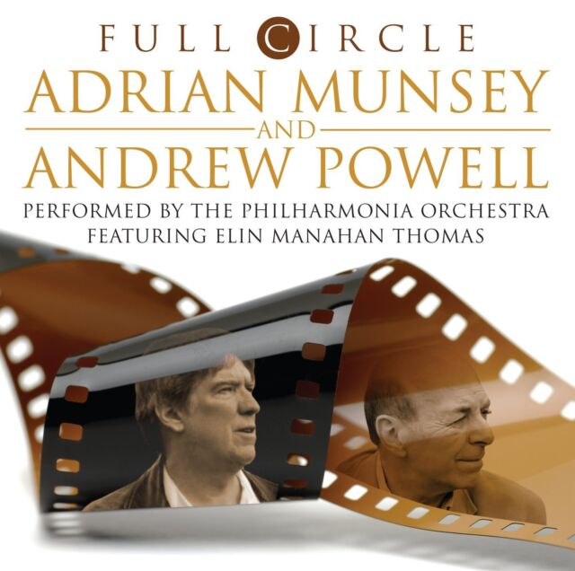 """Adrian Munsey and Andrew Powell Full Circle VINYL 2 Records 12"""""""