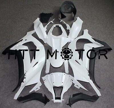Unpainted ABS Fairing Body Kit Drilled Fit for KAWASAKI ZX 10R ZX-10R 2011-2015