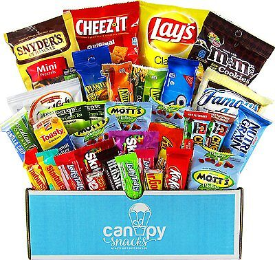 Classic Snacks Care Package, snack gift, college assortment variety pack bundle