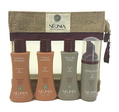 BEST DEAL! NEUMA Volume Shampoo, Conditioner, Blow Dry Lotion, (Best Volumizing Dry Shampoo)