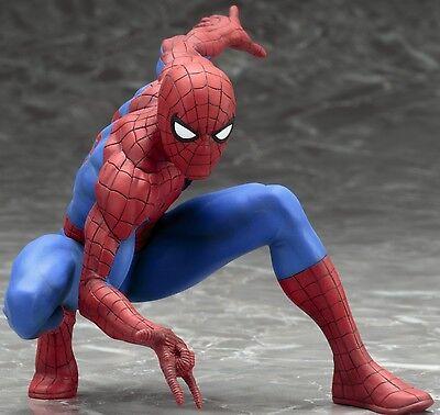 KotoBukiya The Amazing Spider-Man Artfx+ Statue Action Figure NEW IN STOCK USA