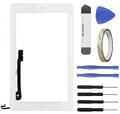 Apple iPad 4 Touchscreen A1458 A1459 A1460 Glasscheibe Display Digitizer weiß