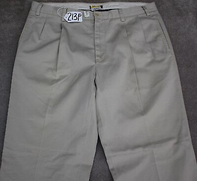 NAUTICA KHAKI Pants for Men W38 X L30. TAG NO. 213P
