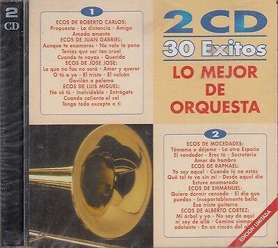 Roberto Carlos,Juan Gabriel,Jose Jose,Raphael Lo Mejor De Orquesta 2CD NewSealed