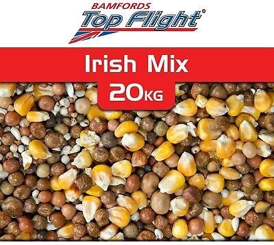 Pigeon Food Seed Irish Mix Bamfords Top Flight 20kg Racing Pigeons BMFD DS
