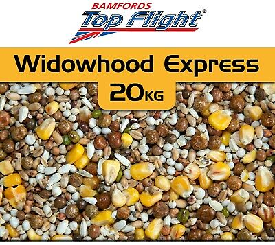 Pigeon Food Seed Widowhood Express by Bamfords Top Flight 20kg BMFD DS