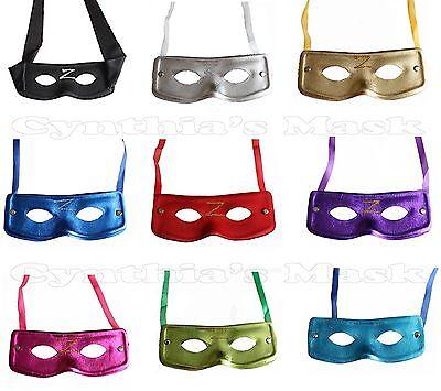 Wholesale12pcs Venetian Super Hero Bandit Zorro Eye Mask Assorted Color Cosplay - Venetian Masks Wholesale