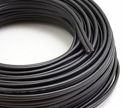 Voodoo Black Speaker Wire 16 Gauge True Awg True Spec 100Ft Home   Car Audio