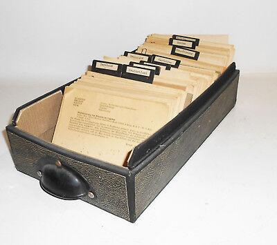 Index Cards Referate Open-Pit Mining Engineering GDR 1960er Brennstoffinstitut