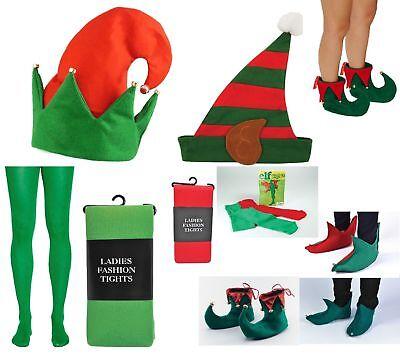 Adult Ladies Santa's Little Helper Cute Elf Christmas Fancy Dress Party - Cute Christmas Santa Kostüm