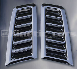 Focus RS MK2 style ABS plastic bonnet vents *FORD PROFILE* universal