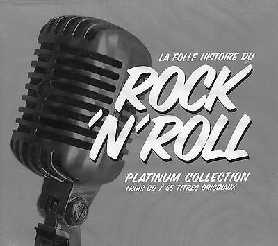 La folle histoire du Rock 'n' Roll - Platinum Collection (3 CD)