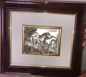 3D    collectible horse picture hanging