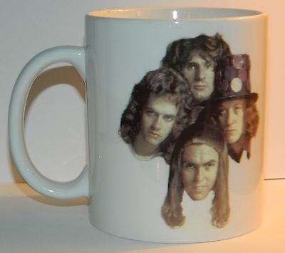 SLADE - 'GROUP PICTURE WITH BAND LOGO' - TOP QUALITY 11oz COLLECTORS MUG - *****