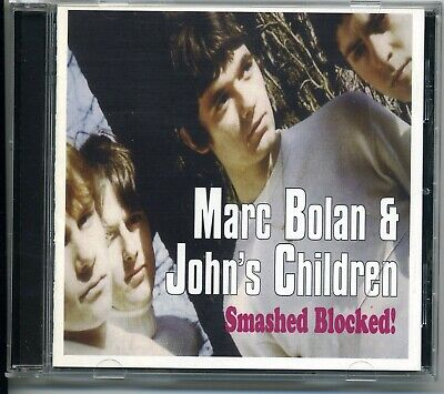MARC BOLAN & JOHN'S CHILDREN SMASHED BLOCKED CD PURPLE